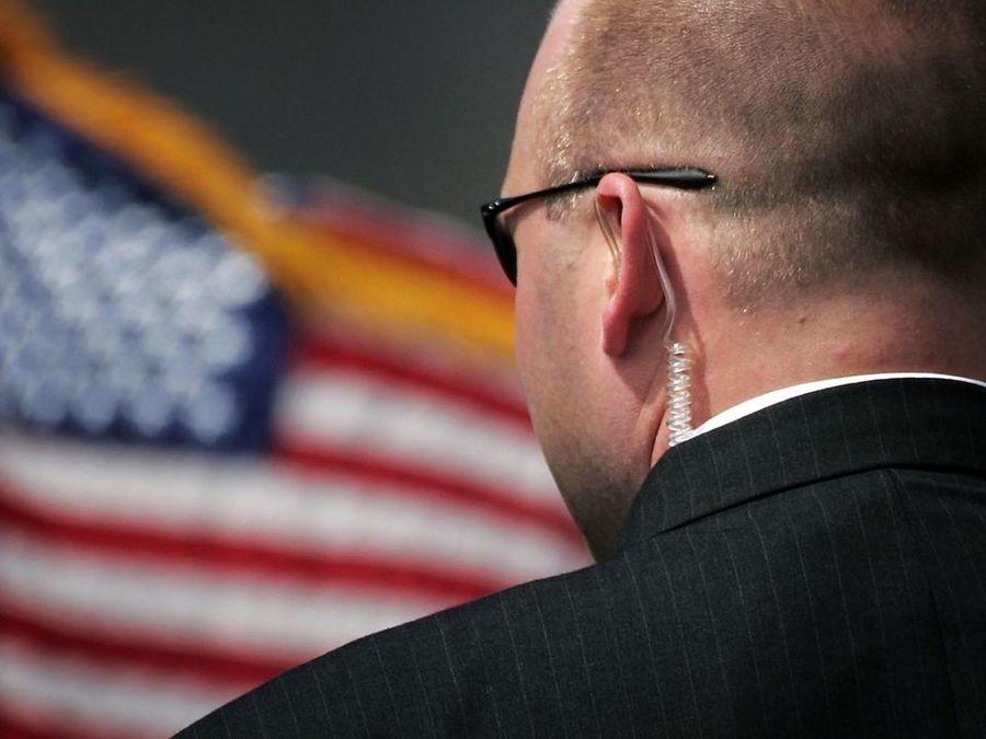 Secret Service agent has laptop stolen