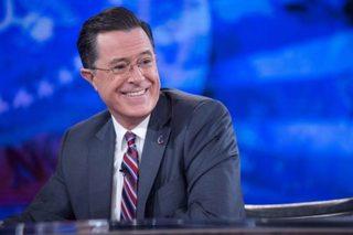 Colbert, Comey talk Trump over Pinot Noir
