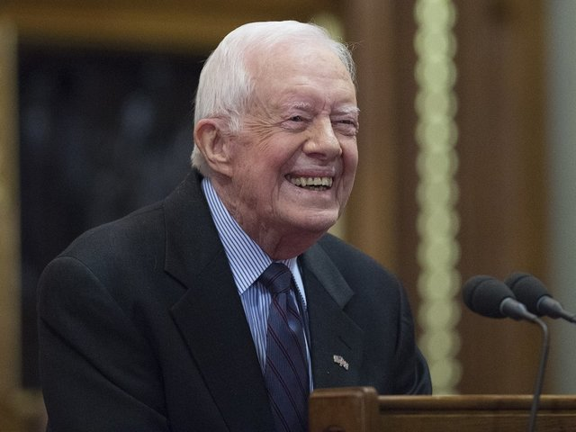 Jimmy Carter: Apparently America wants a jerk for president