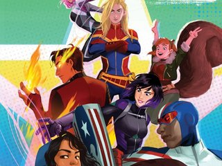 'Marvel Rising' features a diverse roster