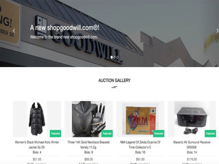 How you can shop Goodwill online