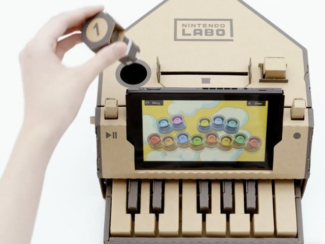 Nintendo's New Kid-Focused Project Is Made Out Of ... Cardboard?