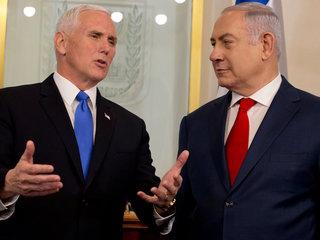 Mike Pence calls Jerusalem 'Israel's capital'