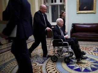 Flake says McCain is 'gaining strength'