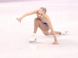 Tough finish for USA women's figure skaters