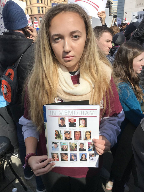 Corinne Small is a Senior at Marjory Stoneman Douglas High School.