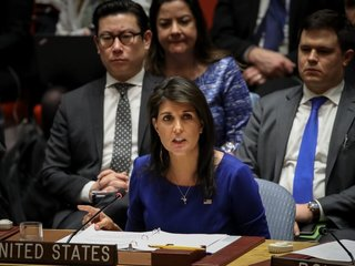 Haley fires back over Russia sanctions