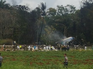 Plane crash in Cuba leaves over 100 people dead