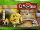 Frozen breakfast burritos recalled