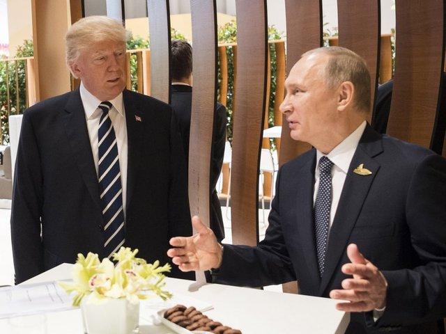 President Trump, Putin meet in Finland
