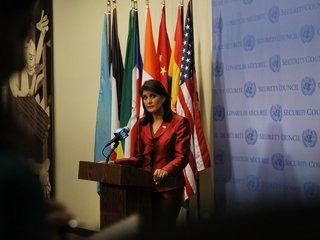 Haley: US 'not looking' for Iran regime change