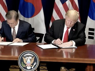 US, South Korea sign new trade agreement