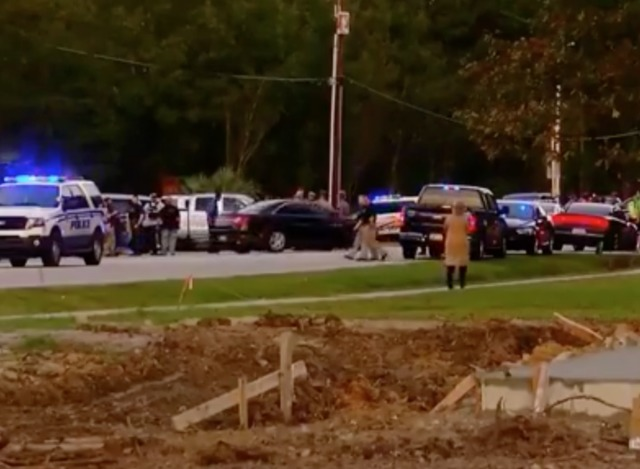 Five police officers shot in SC