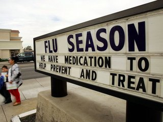 Each US city has its own pattern of flu spread
