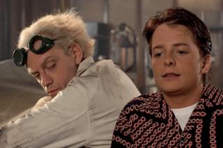 Actors Michael J. Fox, Christopher Lloyd reunite